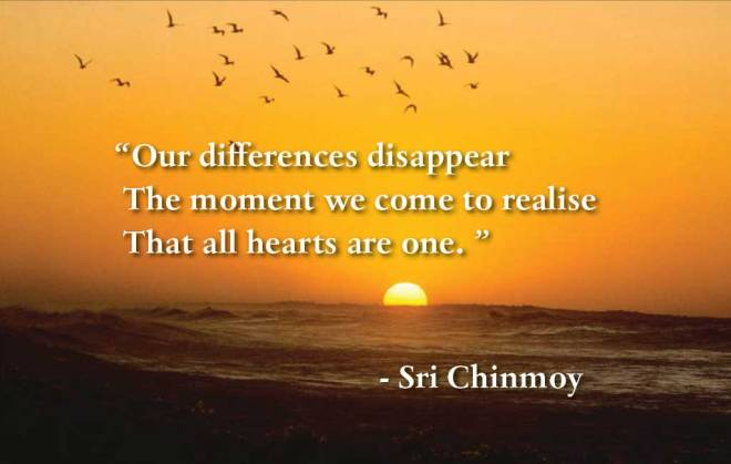 New website with quotes of Sri Chinmoy